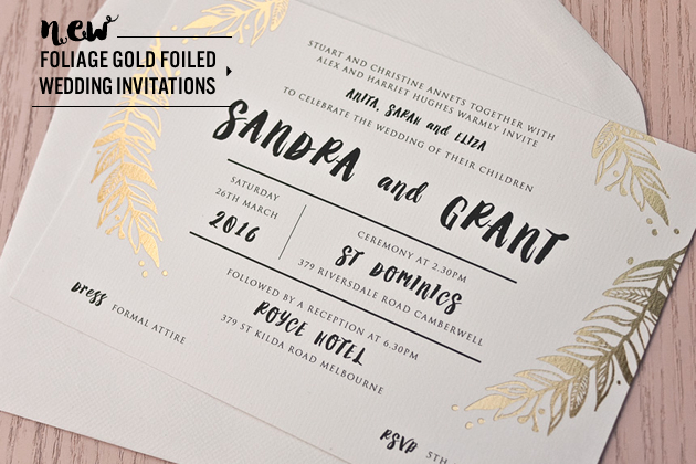 wedding invitations, place cards & envelopes printing online australia, Wedding invitations