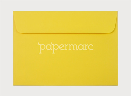 kaskad canary yellow 5x7 inch 130x180mm envelope 5x7 inch