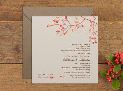 Wedding Invitations and Stationery Papermarc Melbourne Australia