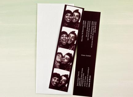 Snapshot Wedding Invitation | Papermarc Melbourne, Australia