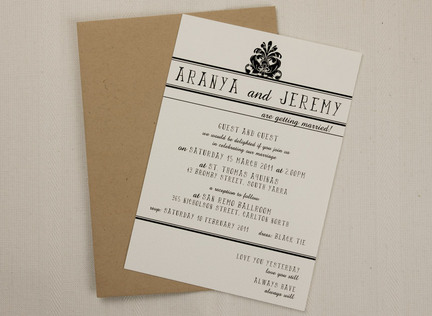 Telegram Wedding Invitation