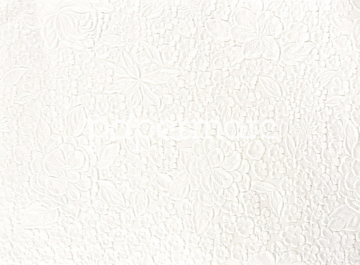 Embossed Bouquet White A4 (EM07)
