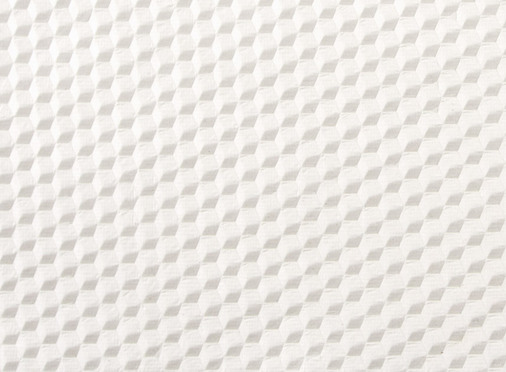 Cubic Embossed White A4 Paper
